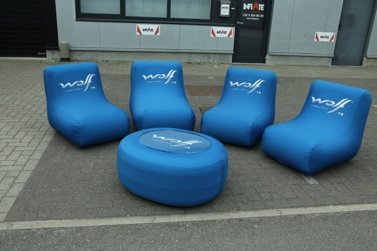 Airtight furniture Wolf lubricants with removable covers